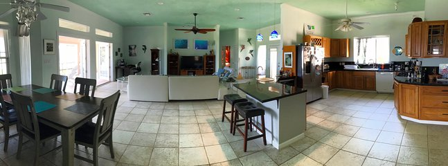 kitchen/dining, living - all open floor plan