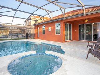 4 Bd Family Friendly Close to Disney w/ Pool *BellaVida Resort 4523