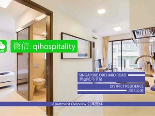 Singapore Orchard Road District Residence CBD1