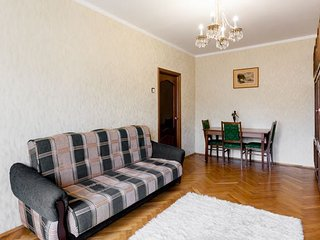 2-roomed apartment near Arbat street