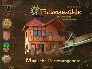 Appartement Adelheid auf der Falkenmuhle