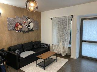 Intero appartamento. 4 letti. Smart house.