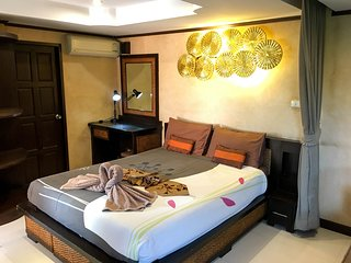 R8: Double bedroom apartment 62 sqm in tropical garden