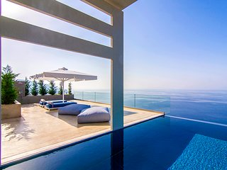 June Offers 2020: Stunning Villa Blue Ionian with Large Private Infinity Pool