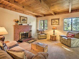 NEW! Spacious Truckee Home < 1 Mile to Donner Lake