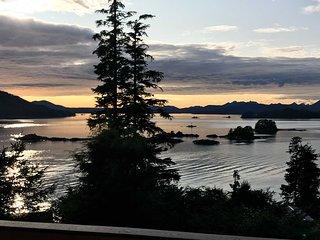 NEW! Oceanside Getaway w/ Sitka Sound Views & Deck