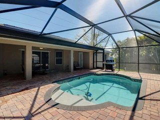 Newly Listed! Great NW Cape Coral Private Heated Pool Home, Minutes to Matlacha,