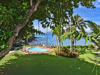 Paradise found on Maui! Condo #211, air conditioned 1 bdr + loft bdr, 2 ba.