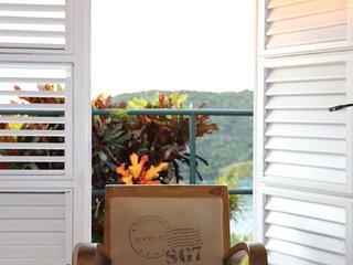 villa rose phoenix appt jardin vue mer