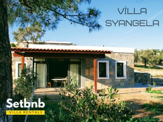 Villa Syangela - A Modern Villa in an antique city