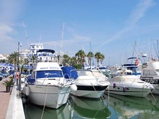 Enjoy the boats and the Sunday market in the Port of Estepona.