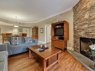 Well-decorated luxury condo w/ shared pool & hot tub - right downtown!