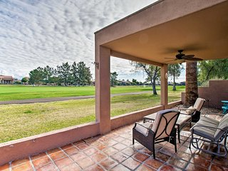 Golf Escape w/ Patio, Pool Access & Entertainment!