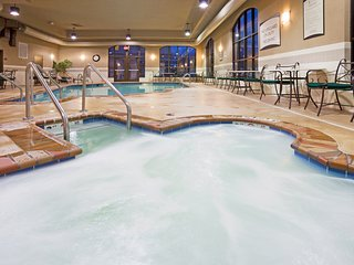 Indoor Pool + Hot Tub + 24 Hour Business Center   Suite Close to the Airport!