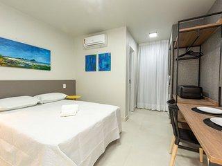 Suite para 3 pessoas no ArtHomes Ponta Negra