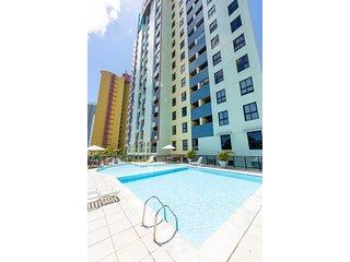 Apartamento mobiliado no Paradise Flat em Ponta Negra