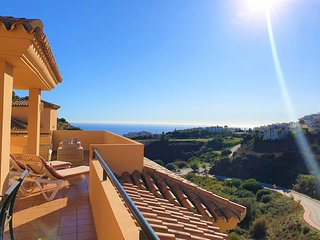 Penthouse with  panoramic mountain and sea views  Costa del sol - Malaga CS251