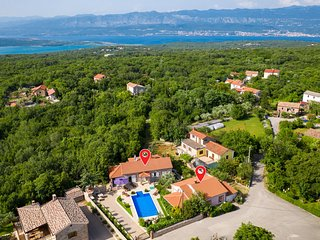 Awesome home in Dobrinj w/ Outdoor swimming pool, Sauna and 5 Bedrooms (CKI174)