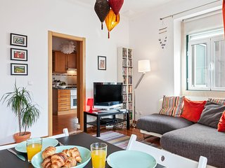 Beautiful Three Bedroom Duplex Flat in Lisbon