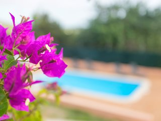 Villa Sol Post close to cala Jondal and Ibiza town with pool and BBQ