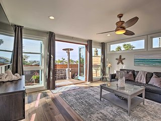 Modern Cardiff Beach Escape w/ Deck & Views!