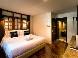 Pak Ping the Cozy Living in Chiang Mai: Deluxe Room 2 People, Sunday Walking St