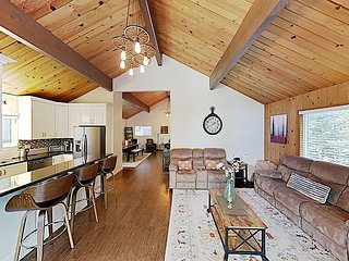 New Listing! Serene Retreat w/ Game Room, Two Decks & Forest Views