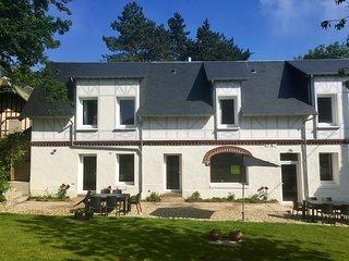 Villa Normande 12 personnes à 100m de la plage