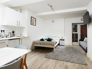 Flat 11 · 3 people studio in front of Euston Station