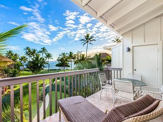The Sandy Feet Retreat - Oceanfront 2BR 2BA Condo on Kauai's Royal Coconut Coast