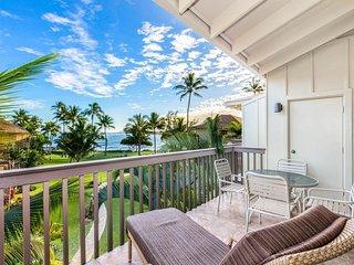 The Sandy Feet Retreat - Oceanfront 2BR 2BA Condo on Kauai's Royal Coconut Coast