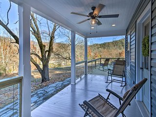 NEW! Hot Springs Home w/ Fire Pit - By the AT!