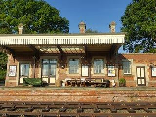 Rowden Mill Station, Bredenbury - sleeps 4