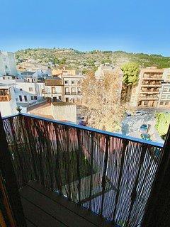 vistas desde balcón dormitorio invitados