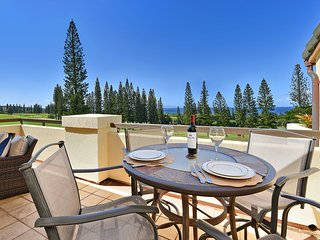 KGV 26T5 Sweeping Kapalua Ocean Views From The Beautiful Bay Golf Course!!