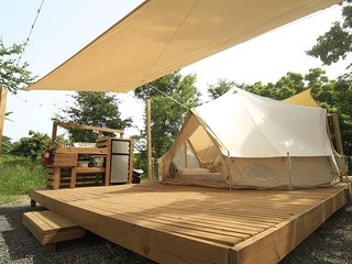 Pitahaya Glamping | 1 Queen + 2 twin