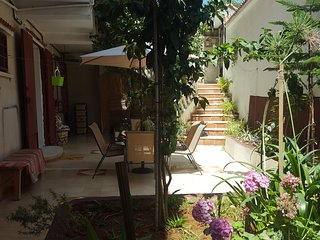 Niveau de villa T4 kouba+jardin+garage prive