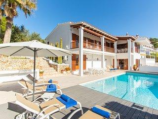 Villa Bella Vista in Cala Galdana - Private pool, sea views, free wifi -