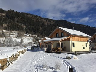 This Chalet in de Steiermark Austria with 100m² has space for up to 8 persons.