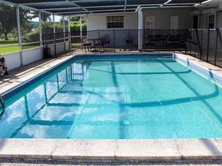 The 70's experience pool home in gated community
