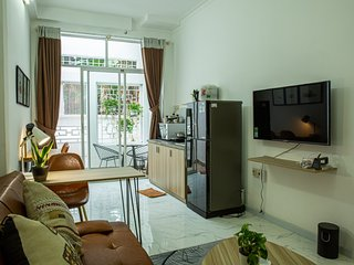 [City Center] - Garden View + Quiet Place - Apartment 01