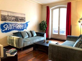 Paris Saint Germain / Notre-Dame 2 chambres