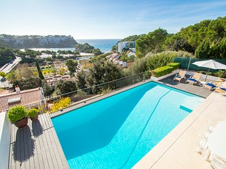 Villa Bella Vista in Cala Galdana - Private pool, sea views, free wifi -