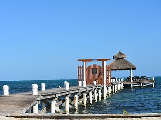 New 2 bedroom 2 bathroom  steps to the ocean, pool, private beach and dock #8