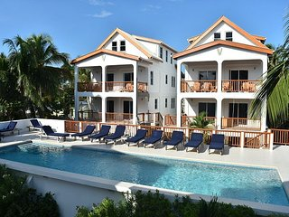 New 3 bedroom 3 bathroom  steps to the pool, private beach and dock #7