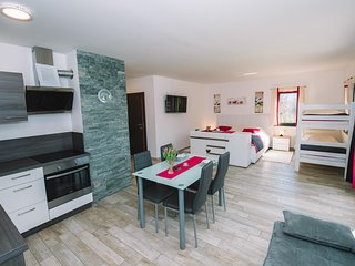 Nice apartment in Bled with Outdoor swimming pool, Sauna and Outdoor swimming po