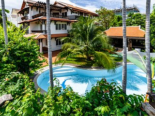 Ngoi casa - beachfront villa with private pool and terrace