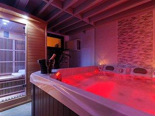 Romance Spa Le Havre loft haut de gamme avec jacuzzi et sauna