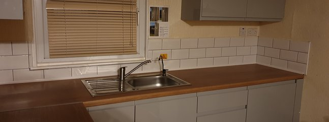 New Up Graded Kitchen for 2020. Filtered Water Tap is provided.