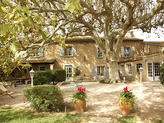 Grand mas authentique de charme ' La Bastide d'Odette' près d'Avignon